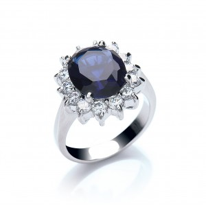 Buckley Royal Celebration Blue Ring