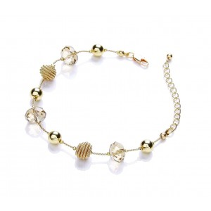 Gold Plated Snails Bracelet