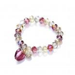 Berry Heart Stretch Bracelet