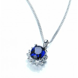 Buckley Royal Celebration Blue Pendant