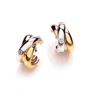Buckley London Russian Trio Hoop Earrings
