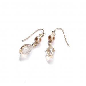 Sparkle Glass Drop Earrings
