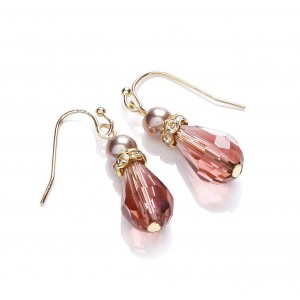 Berry Mix Drop Earrings