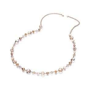 Narnia Long Glass Pearl Necklace