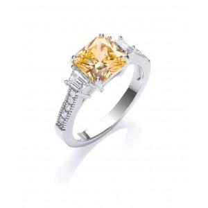 Rhoduim Plated Ascher Trilogy Ring